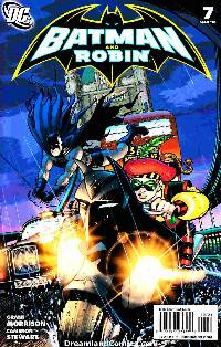 Batman and robin #7 (1:25 stewart variant cover) LARGE
