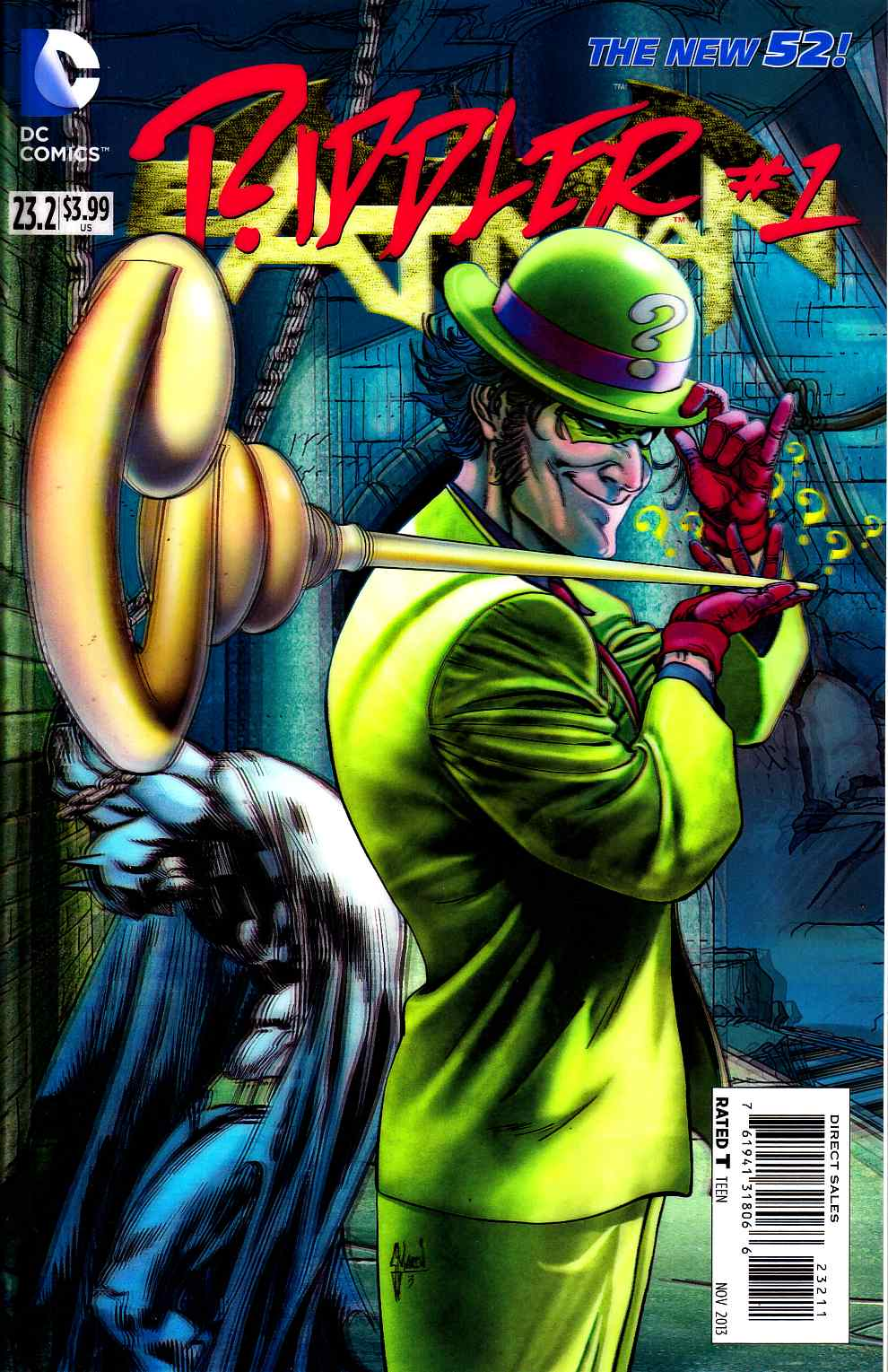Batman #23.2 Riddler 3D Edition [DC Comic] LARGE