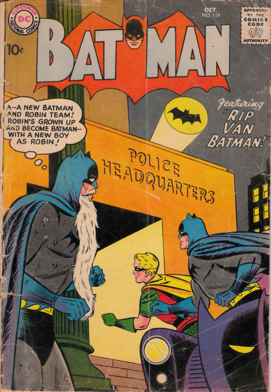 Batman #119 Good Minus (1.8) [DC Comic]_THUMBNAIL