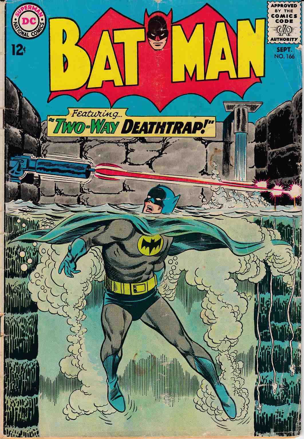 Batman #166 Fair (1.0) [DC Comic]