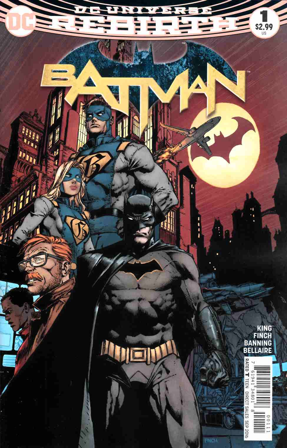 Batman #1 Second Printing [DC Comic] LARGE