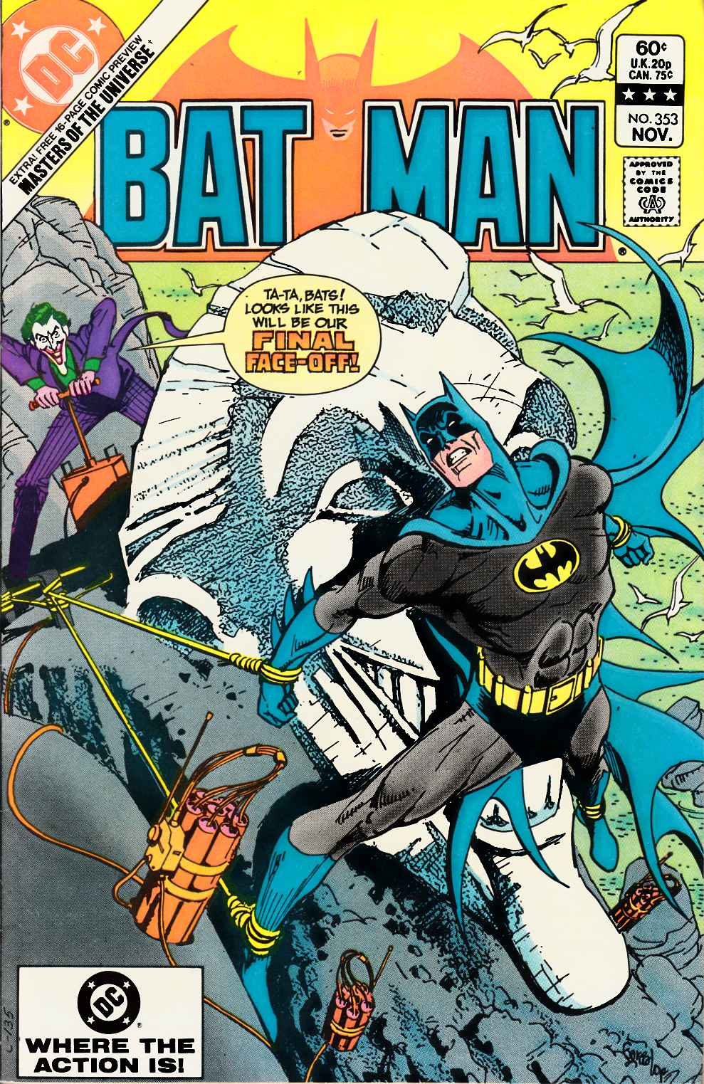 Batman #353 Very Fine (8.0) [DC Comic] LARGE