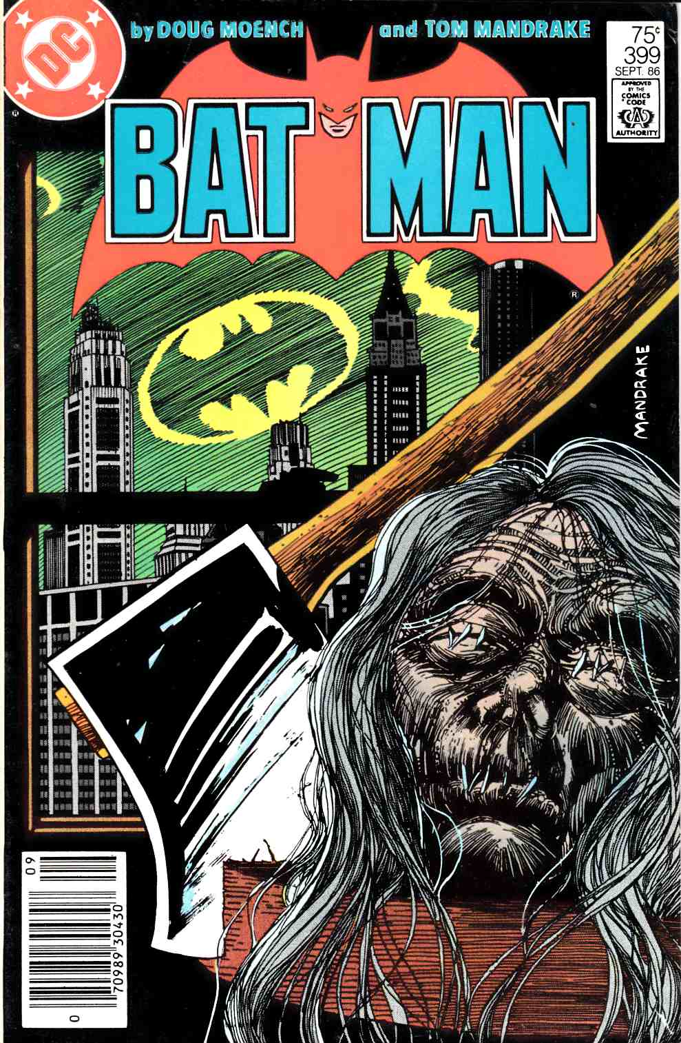 Batman #399 Fine (6.0) [DC Comic]