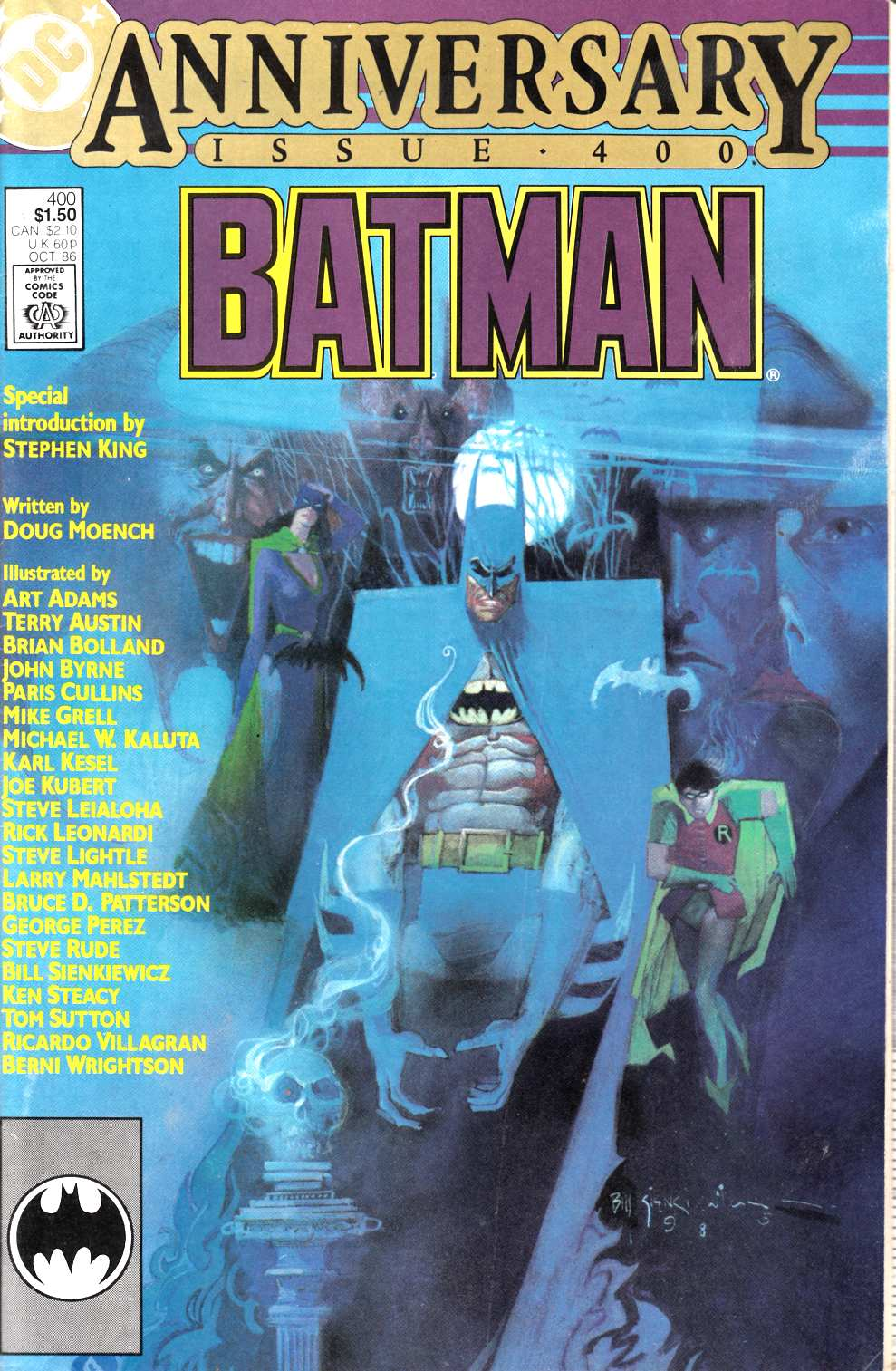 Batman #400 Very Fine Minus (7.5) [DC Comic] LARGE