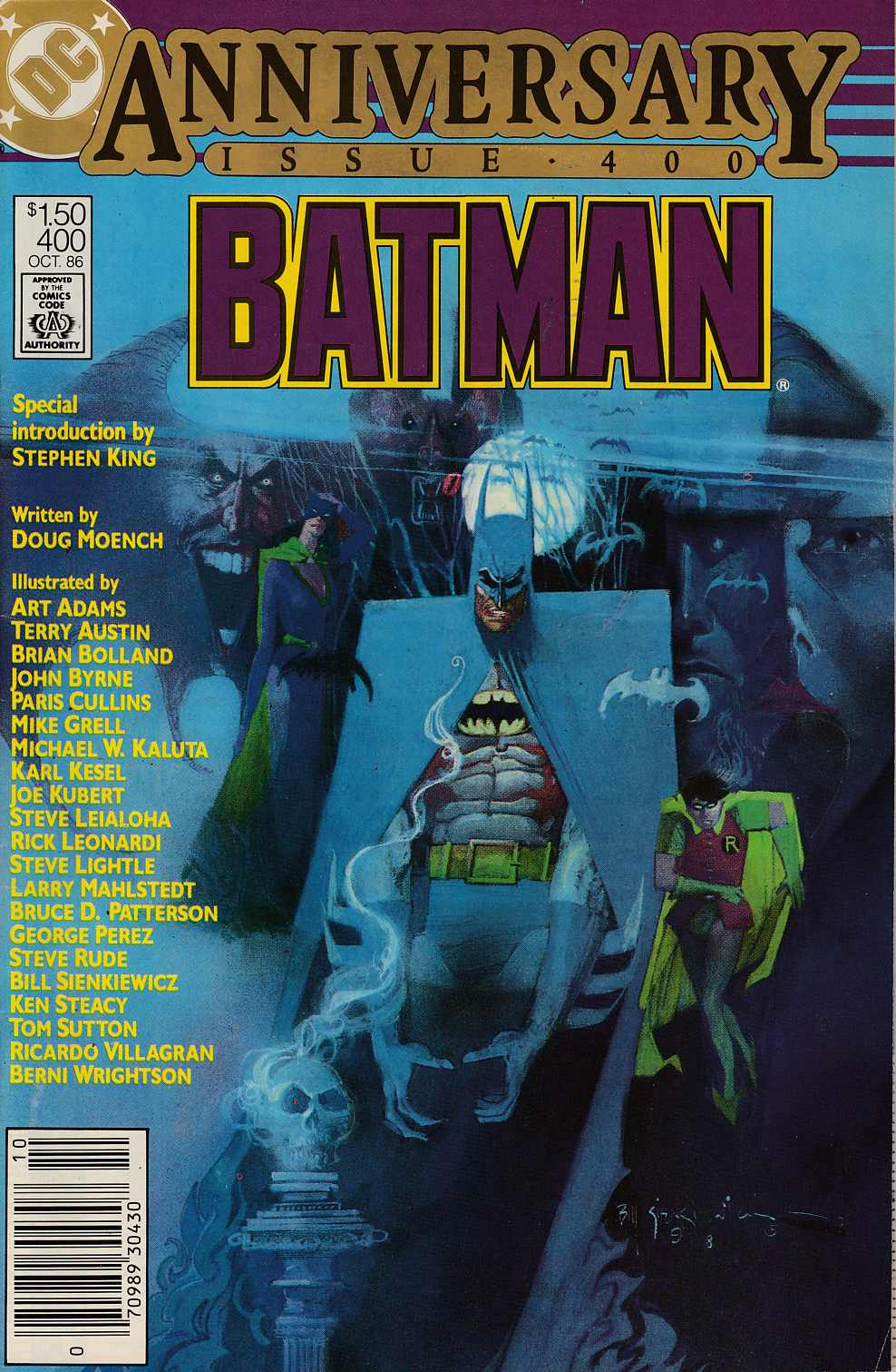 Batman #400 Newsstand Edition Very Fine Minus (7.5) [DC Comic] LARGE