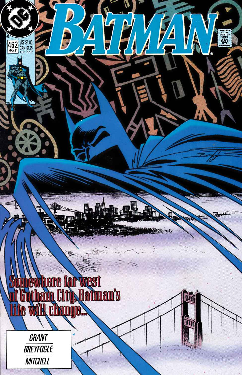 Batman #462 Very Fine (8.0) [DC Comic] LARGE