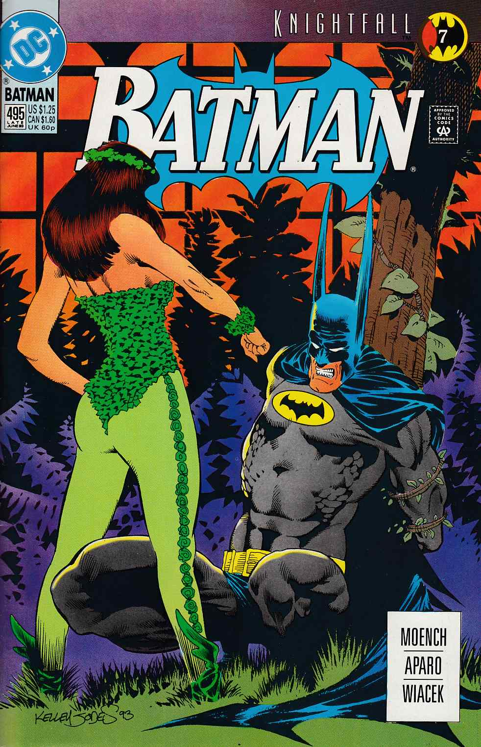 Batman #495 Very Fine (8.0) [DC Comic]