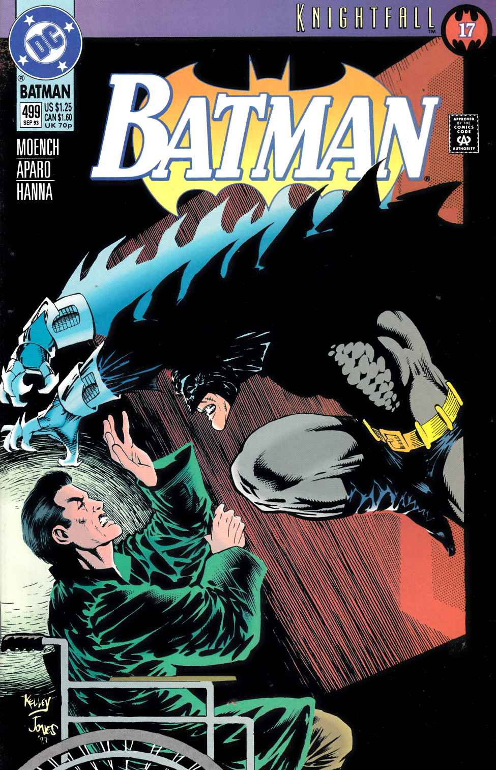 Batman #499 Very Fine (8.0) [DC Comic] LARGE