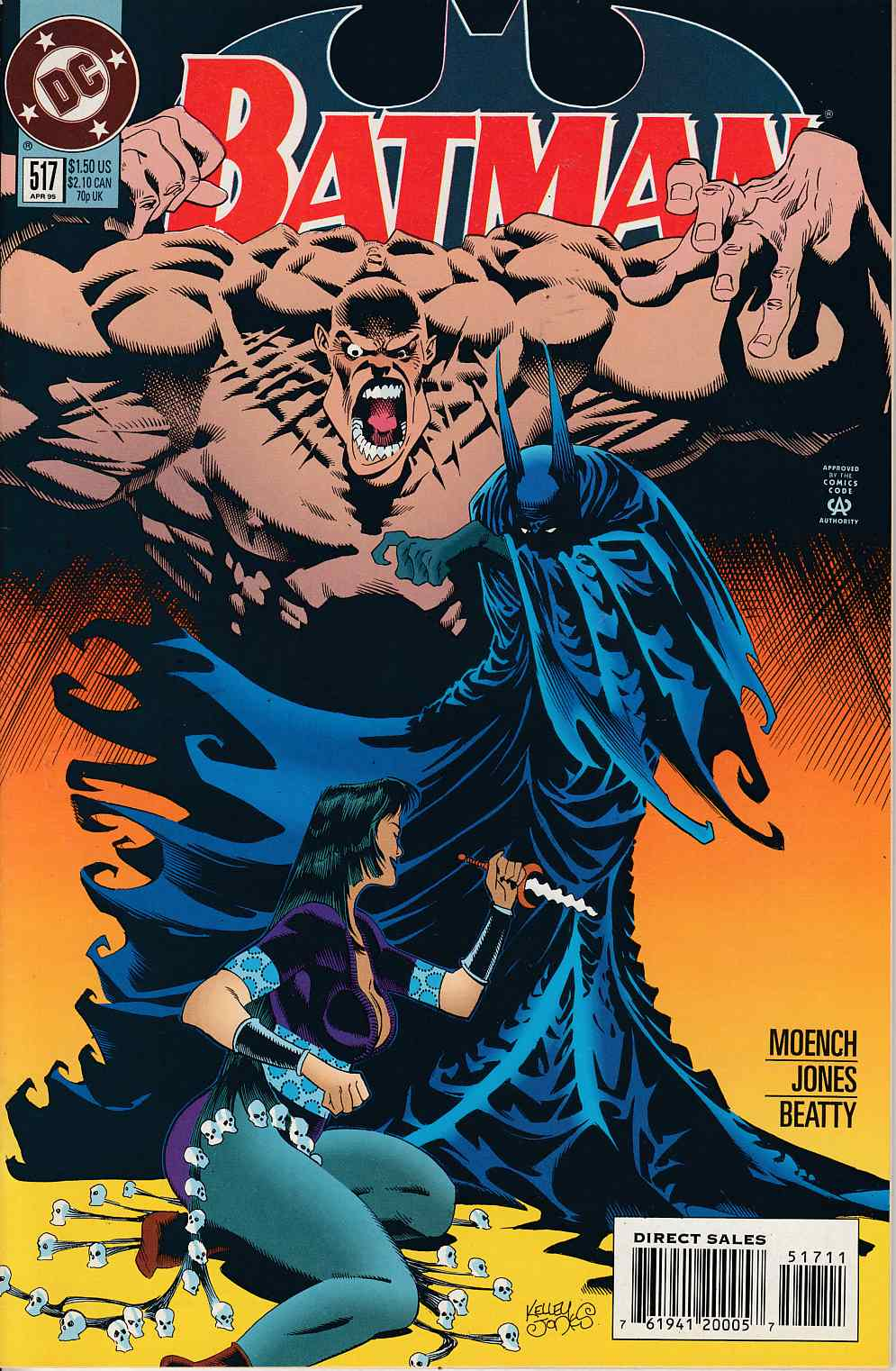 Batman #517 Near Mint (9.4) [DC Comic] LARGE