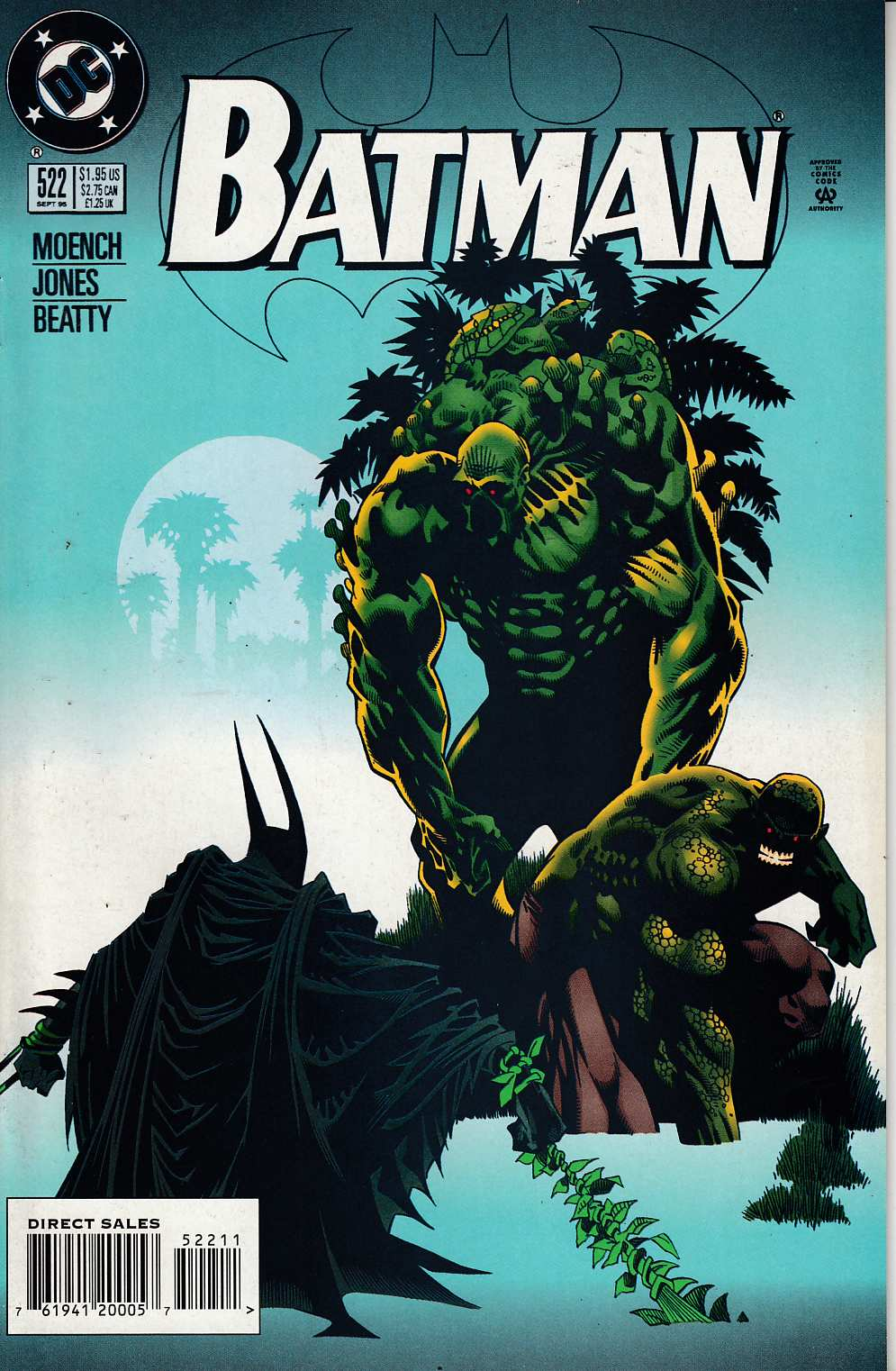 Batman #522 Near Mint (9.4) [DC Comic] LARGE