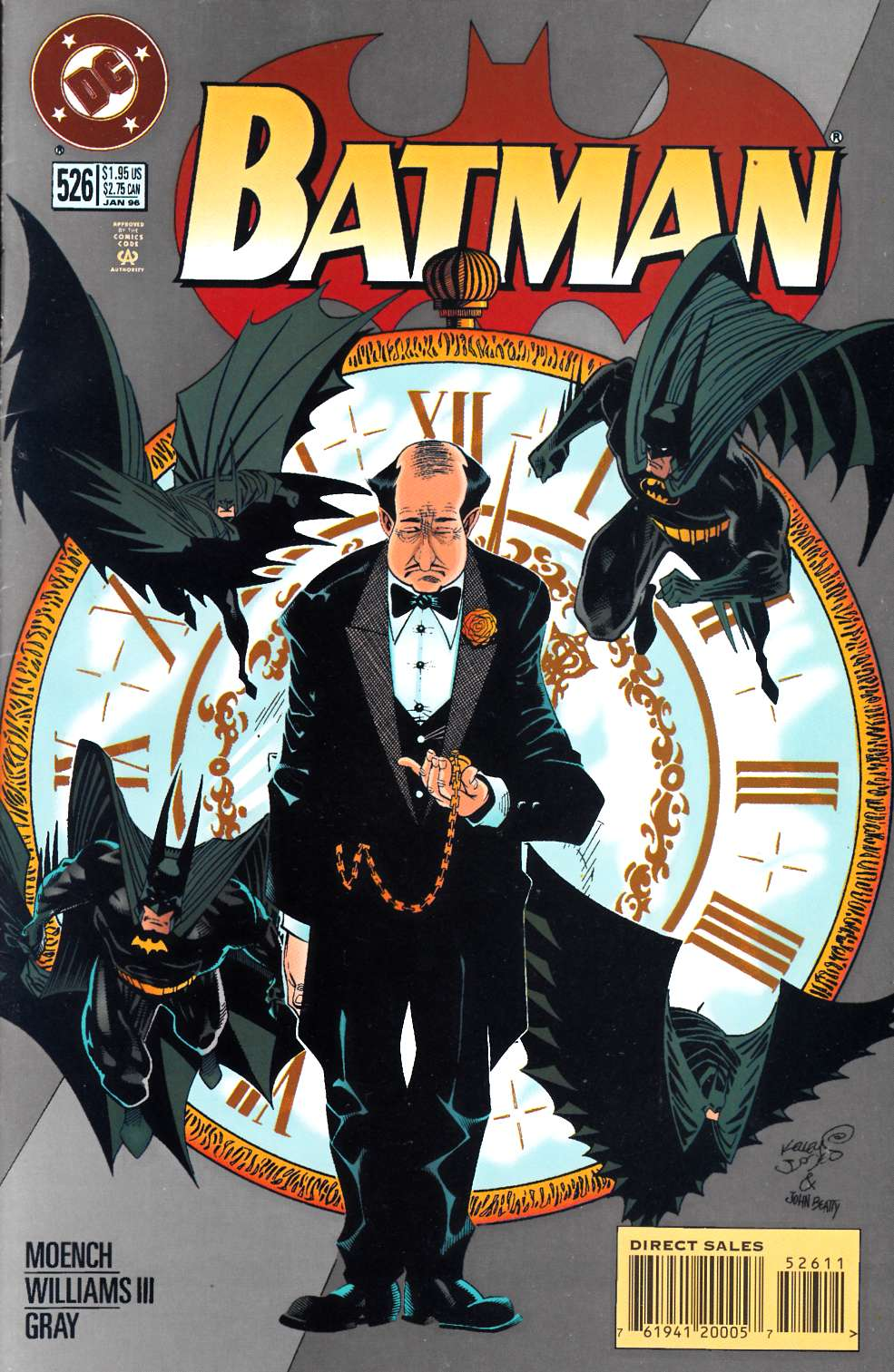 Batman #526 Very Fine (8.0) [DC Comic] LARGE
