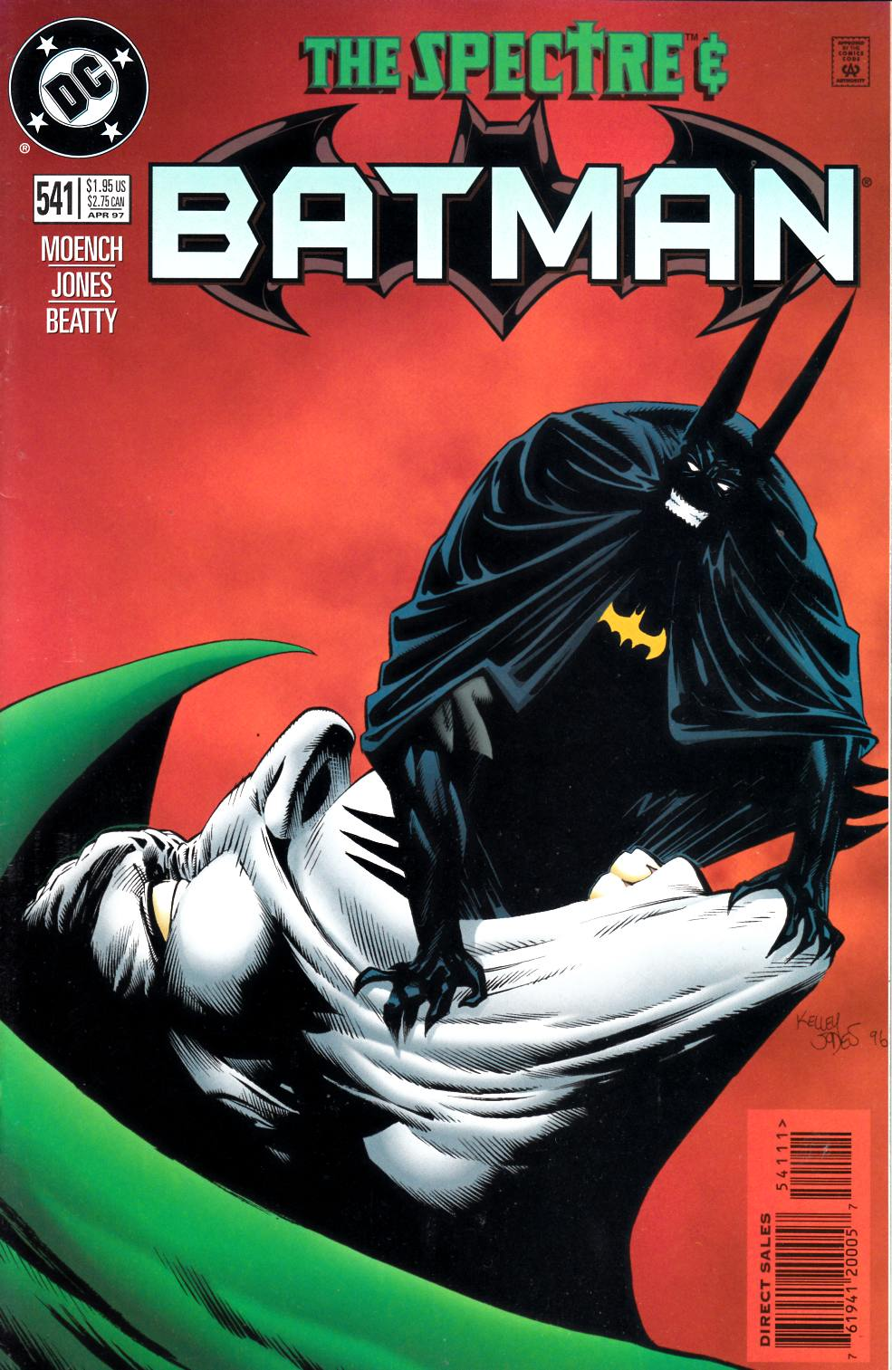Batman #541 Very Fine (8.0) [DC Comic] LARGE