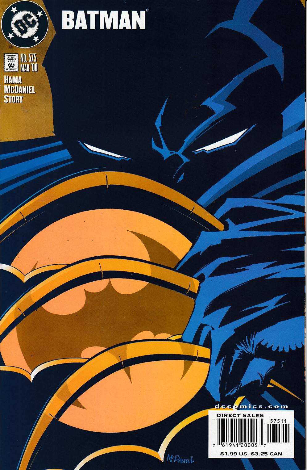 Batman #575 Very Fine (8.0) [DC Comic] LARGE