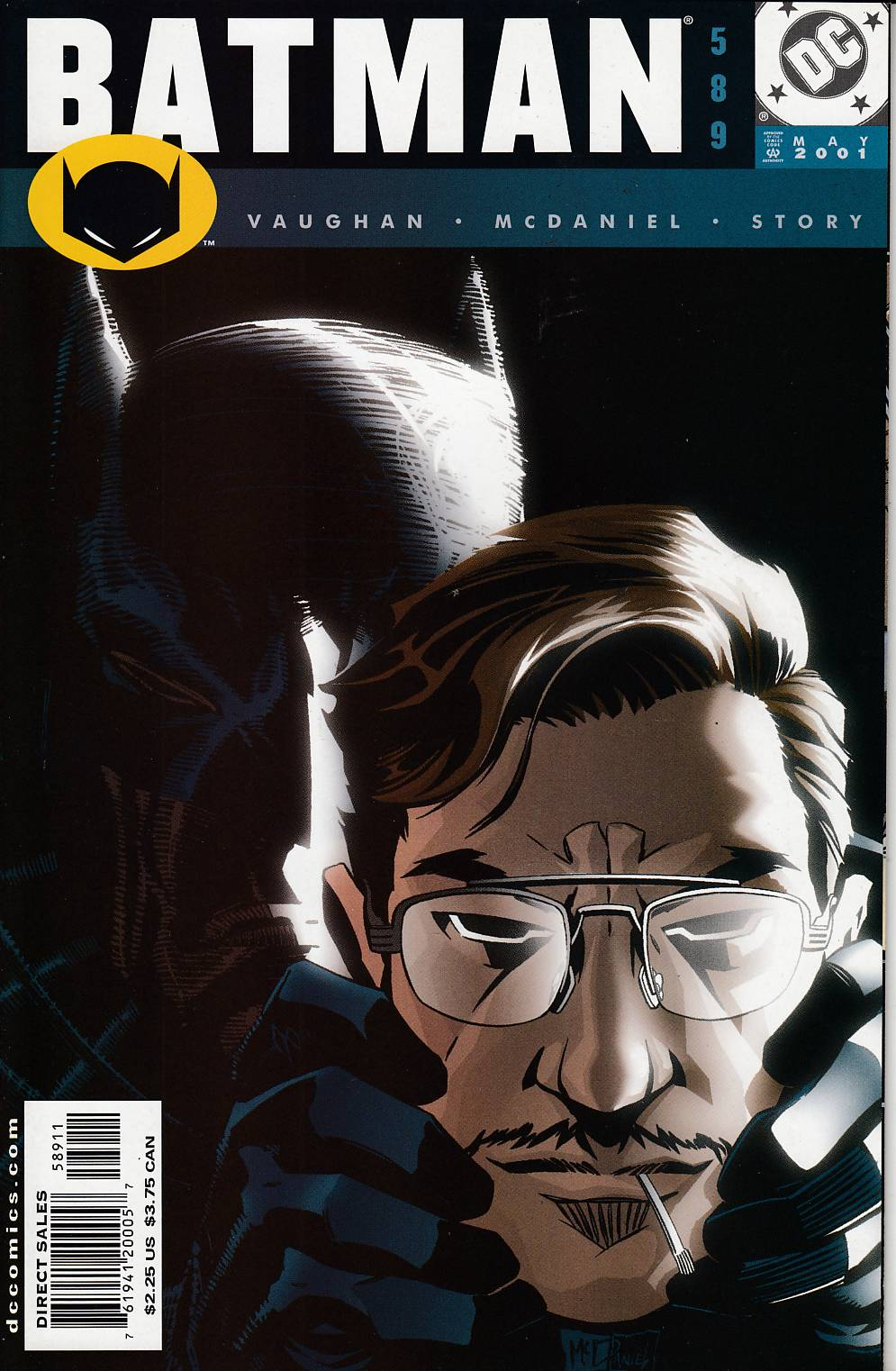 Batman #589 Near Mint (9.4) [DC Comic]_LARGE