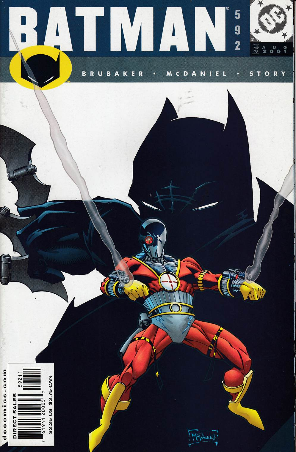 Batman #592 Near Mint (9.4) [DC Comic] LARGE