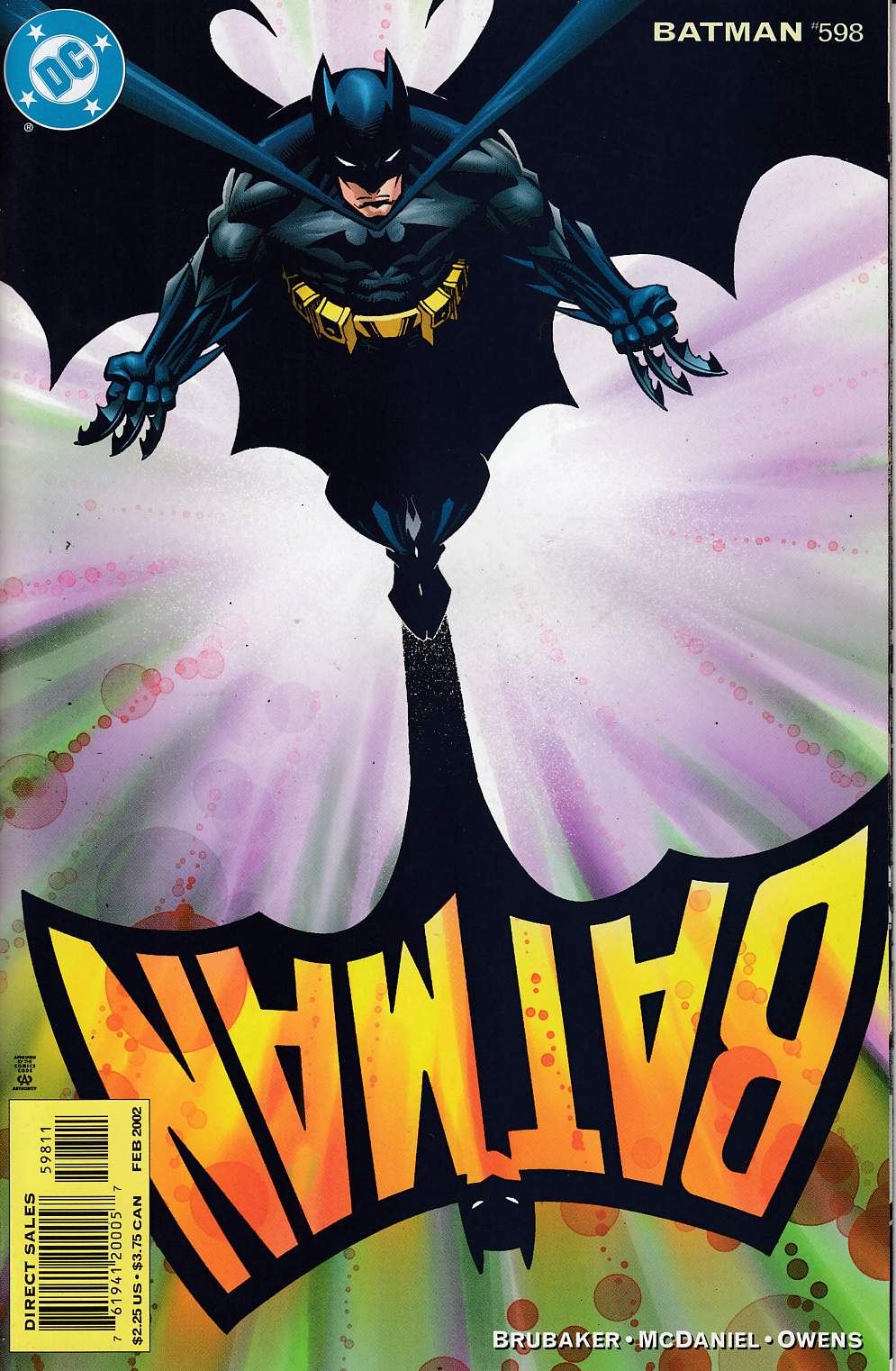 Batman #598 Near Mint (9.4) [DC Comic] LARGE