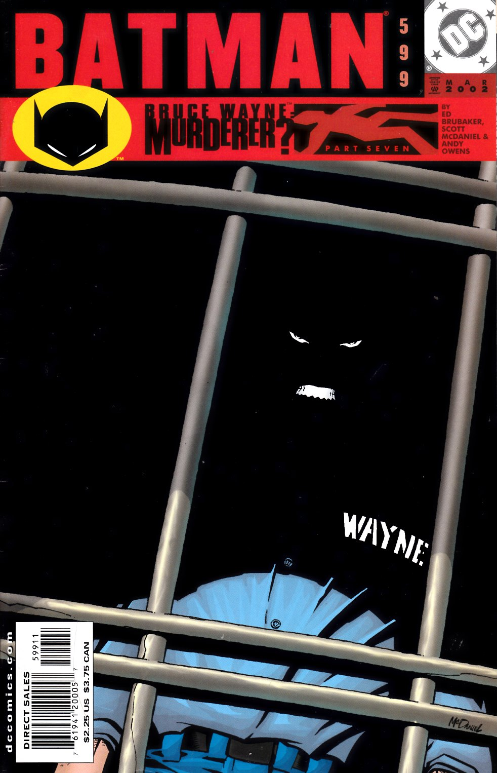 Batman #599 Fine (6.0) [DC Comic] LARGE