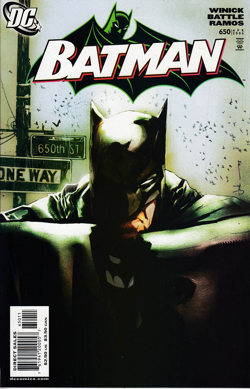 Batman #650 Near Mint (9.4) [DC Comic]_LARGE