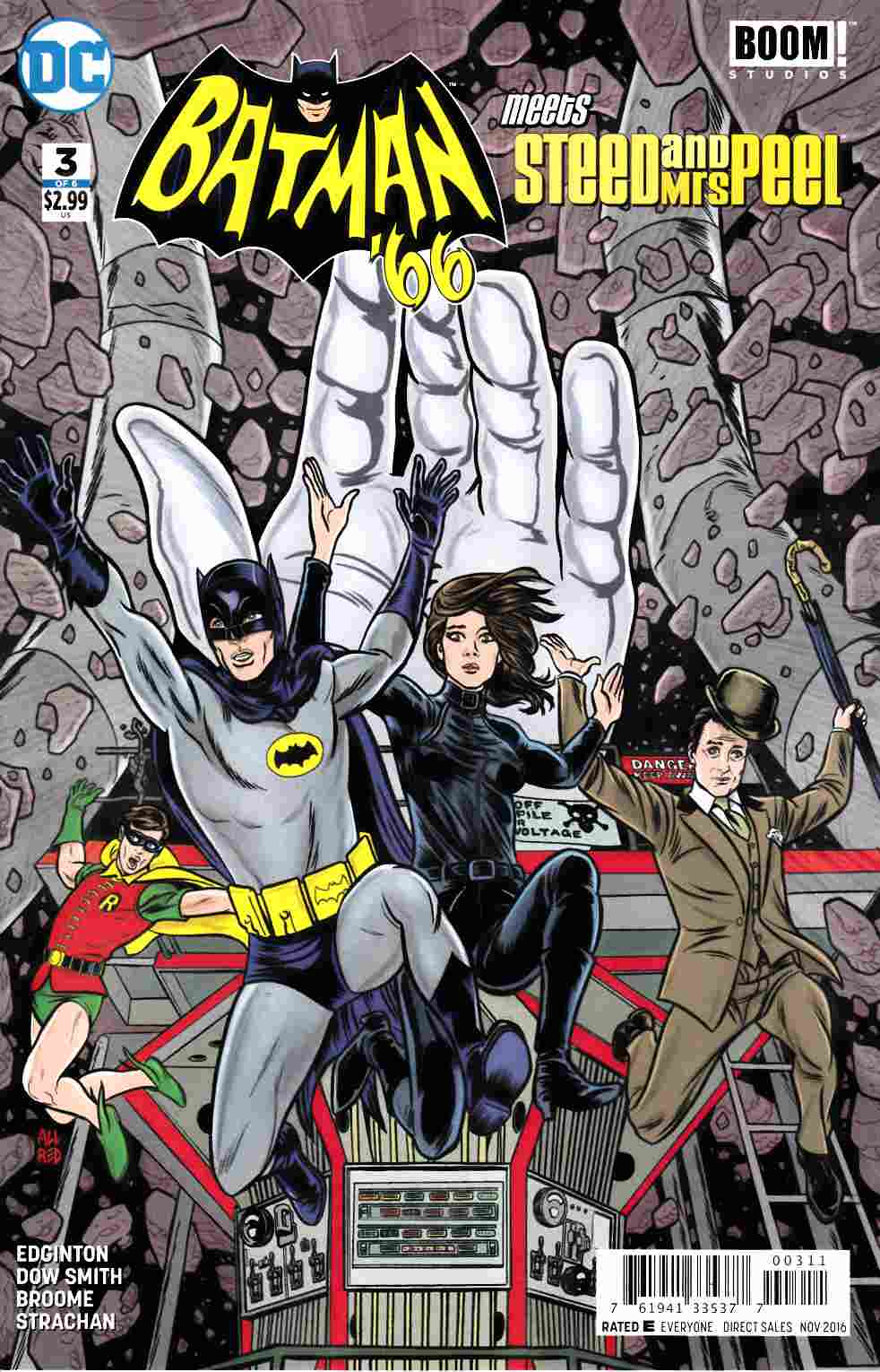 Batman 66 Meets Steed and Mrs Peel #3 [DC Comic] LARGE
