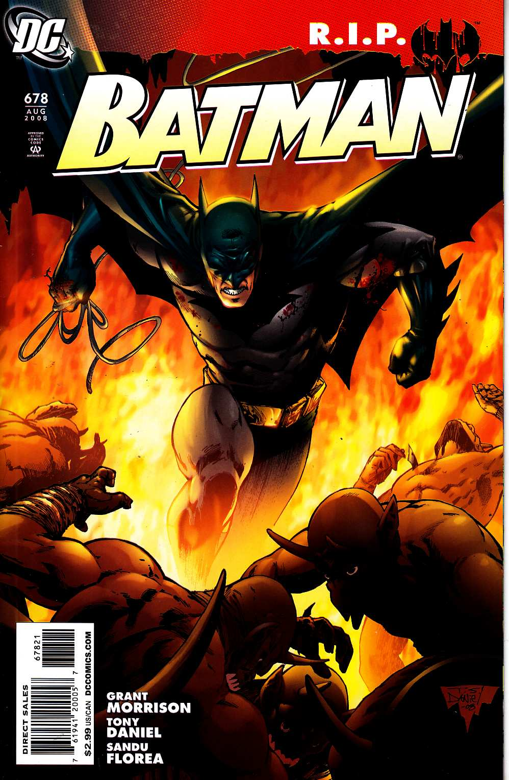 Batman #678 Daniel Variant Cover [DC Comic] LARGE