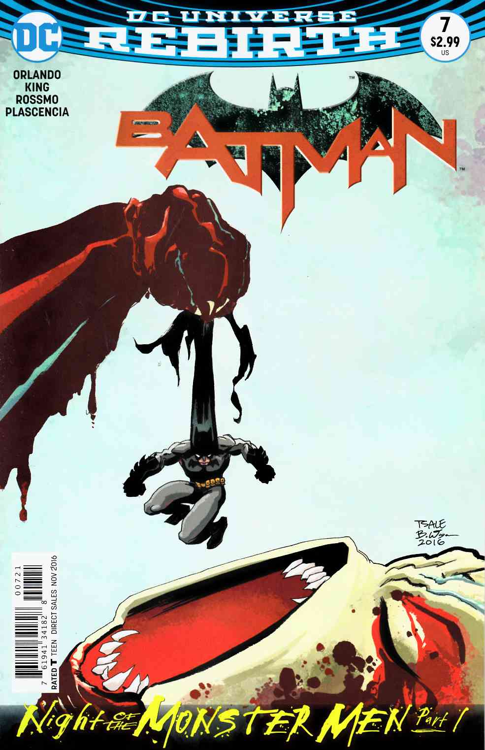 Batman #7 Sale Variant Edition Near Mint (9.4) [DC Comic] LARGE