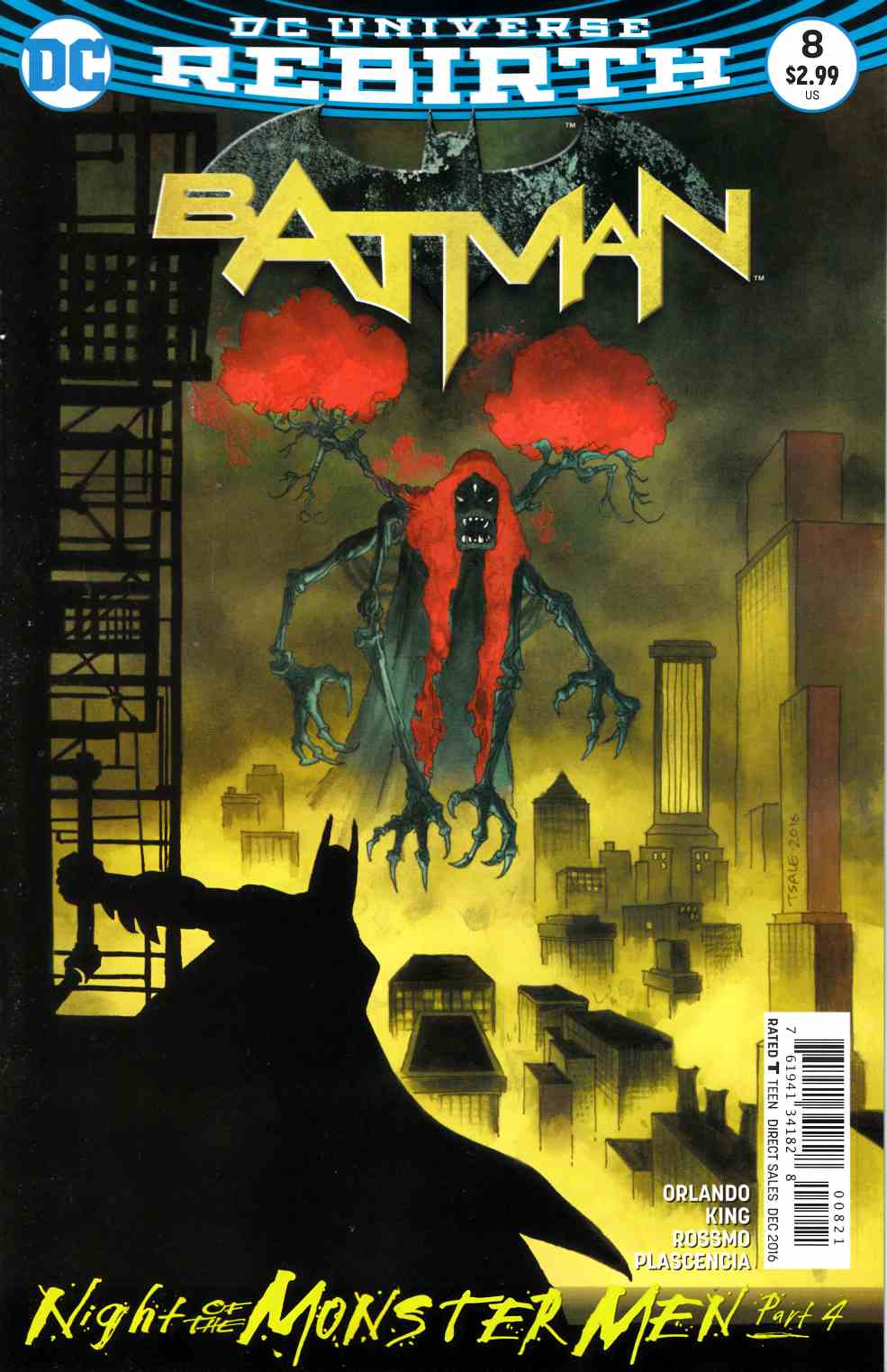 Batman #8 Sale Variant Cover Near Mint Minus (9.2) [DC Comic] LARGE