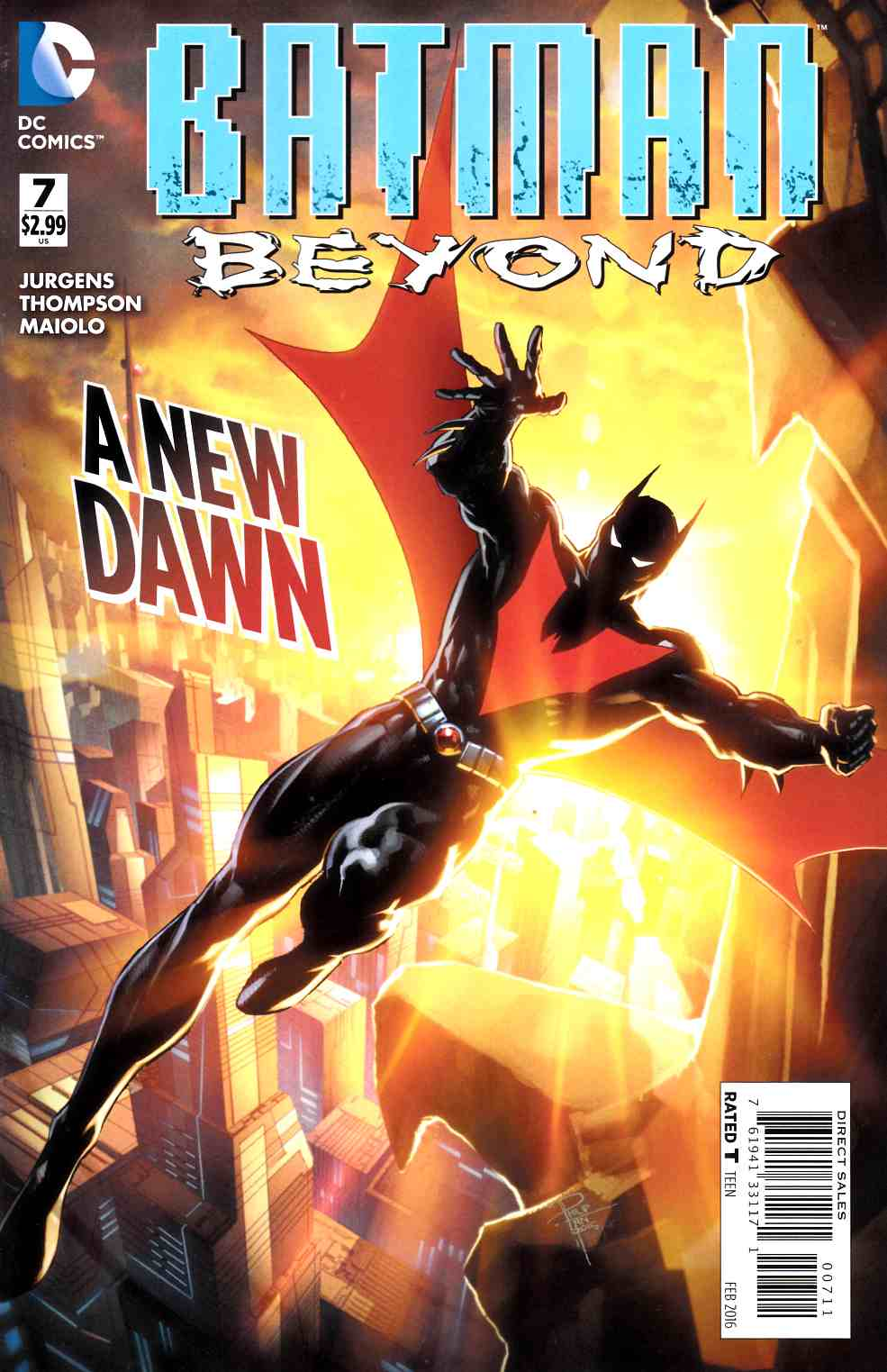 Batman Beyond #7 [DC Comic] THUMBNAIL