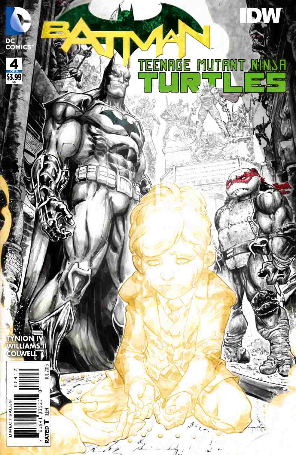 Batman Teenage Mutant Ninja Turtles #4 Second Printing [DC Comic] THUMBNAIL