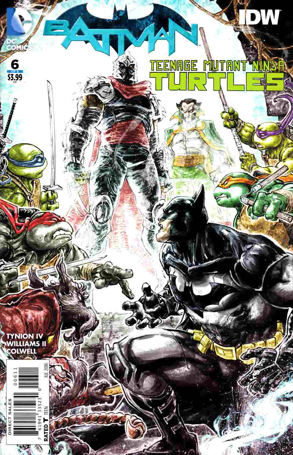 Batman Teenage Mutant Ninja Turtles #6 [DC Comic] THUMBNAIL