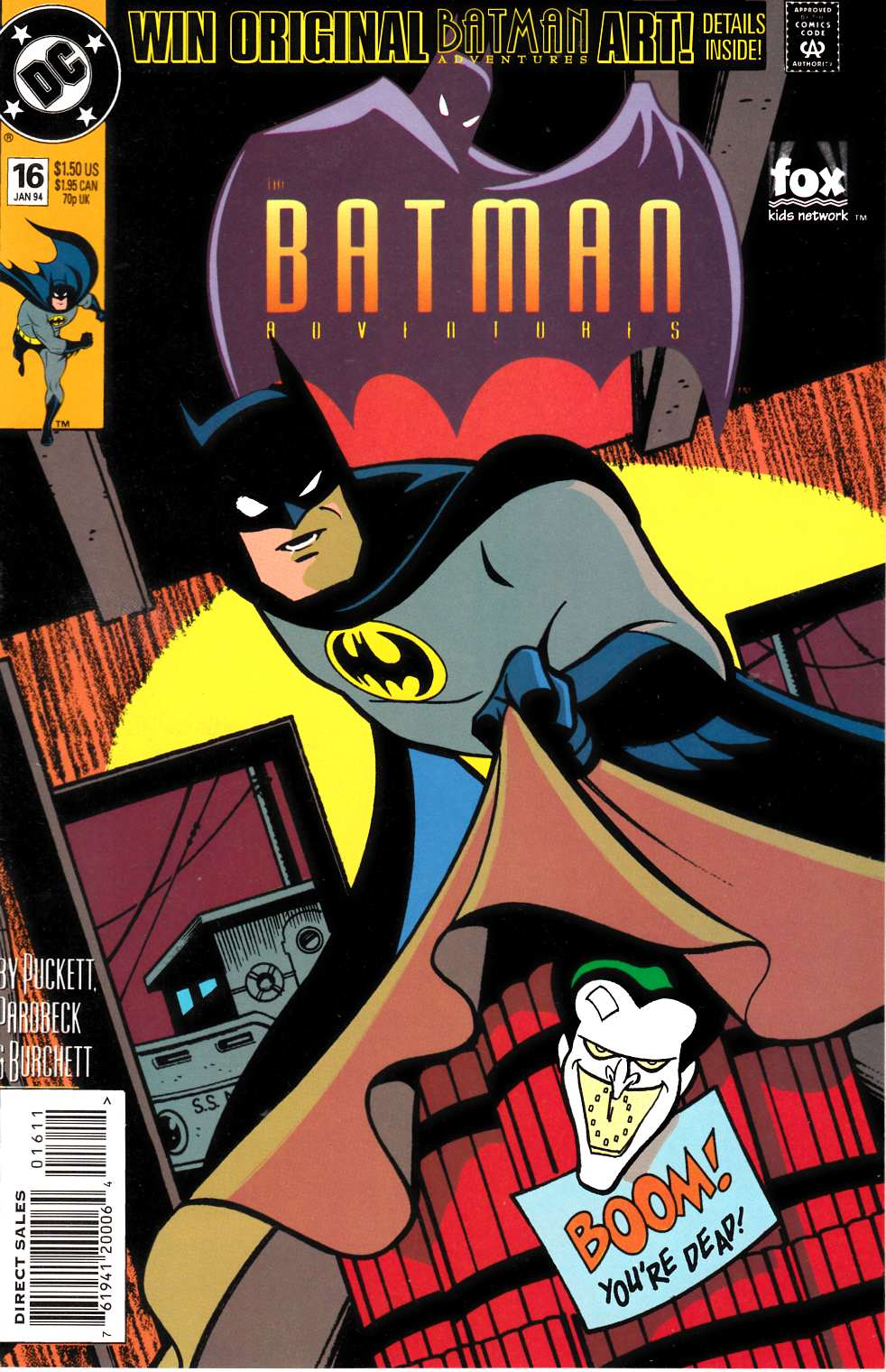 Batman Adventures #16 [DC Comic] LARGE