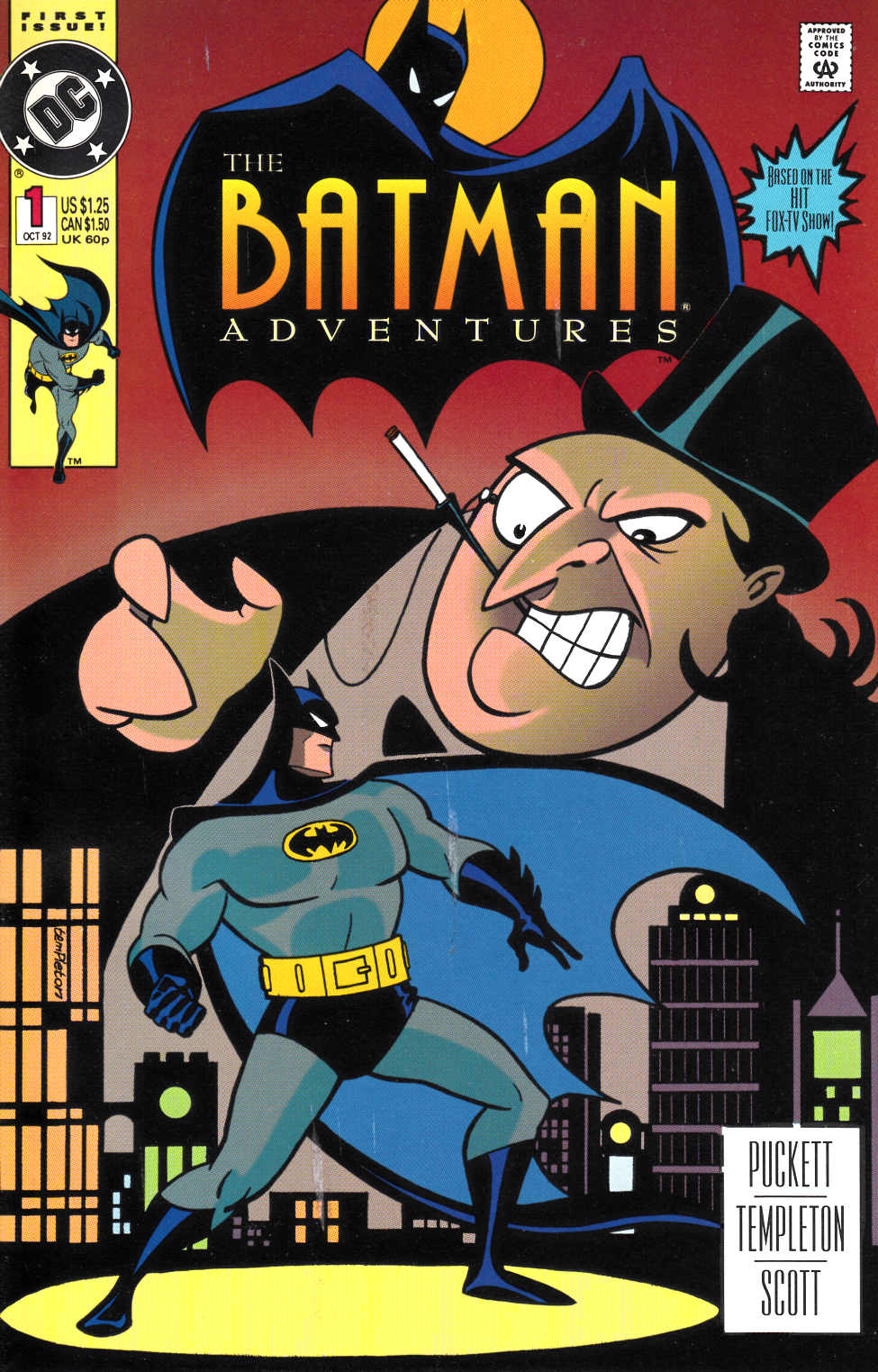 Batman Adventures #1 Very Fine (8.0) [DC Comic] LARGE