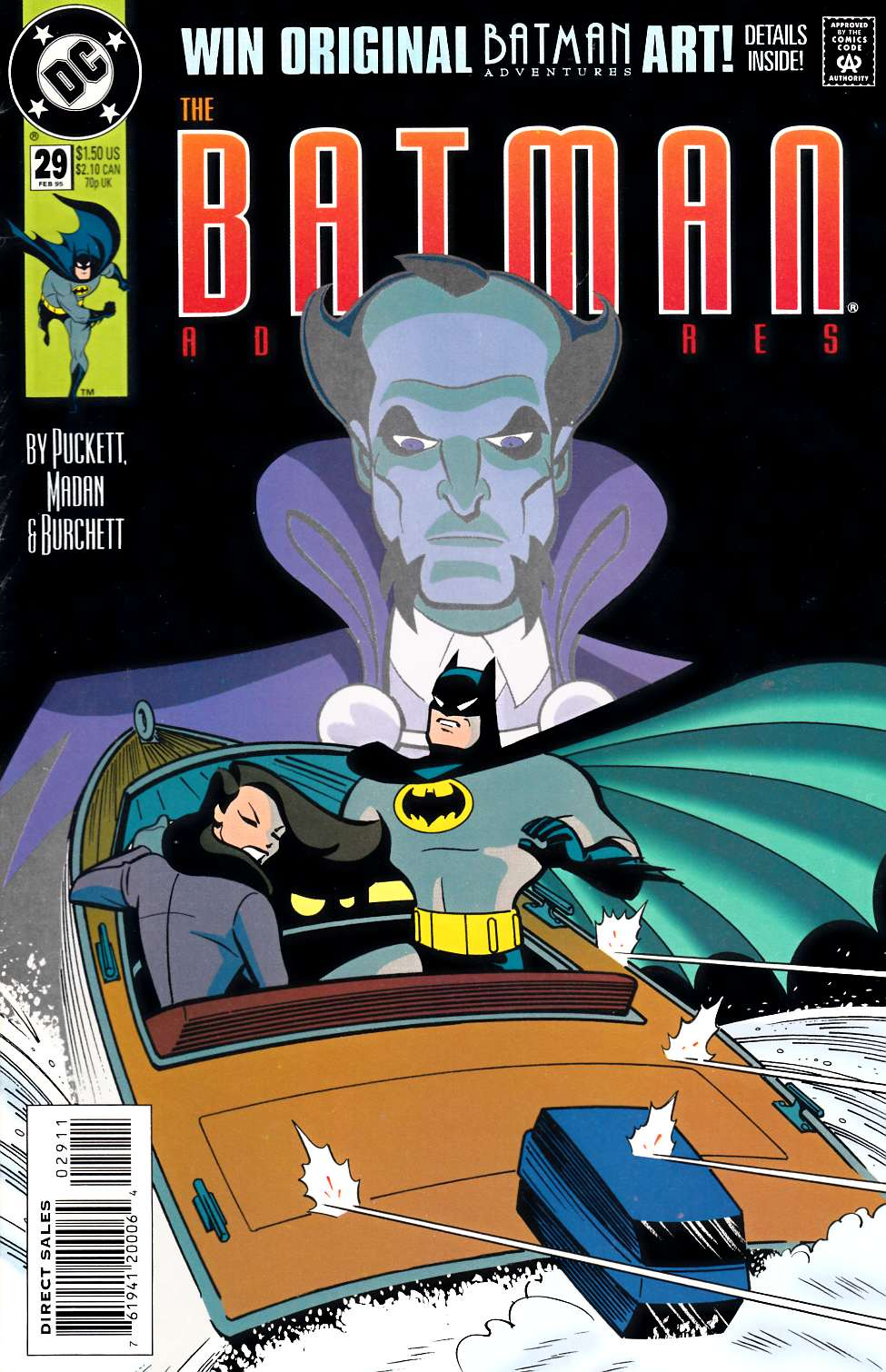 Batman Adventures #29 [DC Comic] THUMBNAIL
