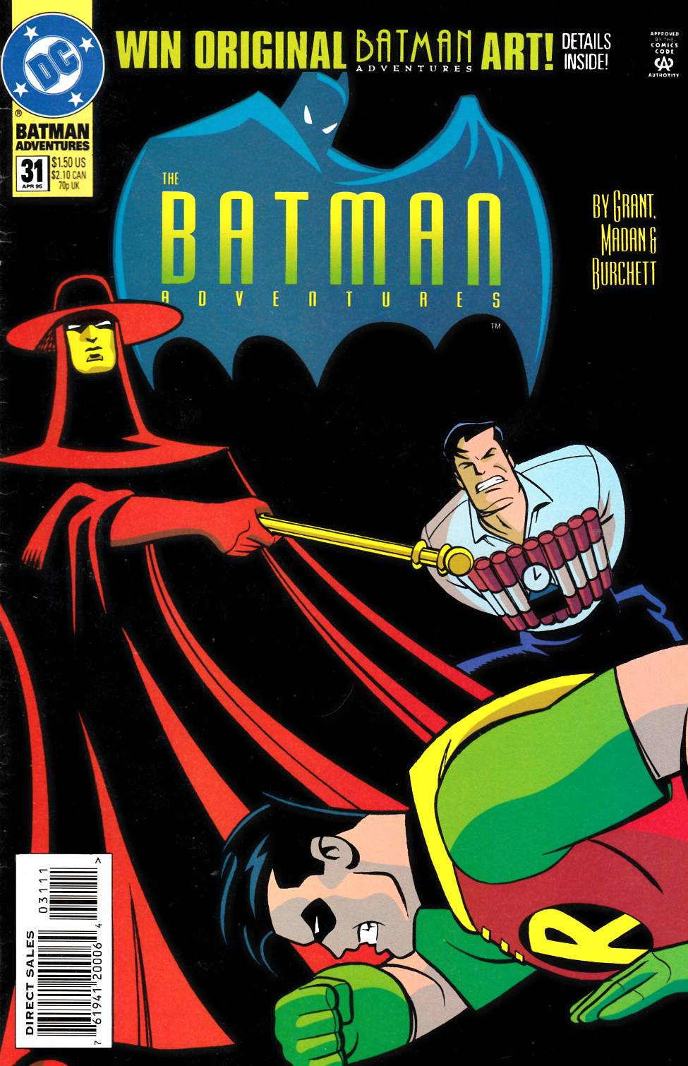 Batman Adventures #31 [DC Comic] THUMBNAIL
