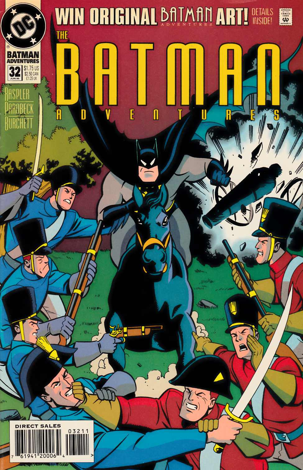 Batman Adventures #32 [DC Comic] THUMBNAIL