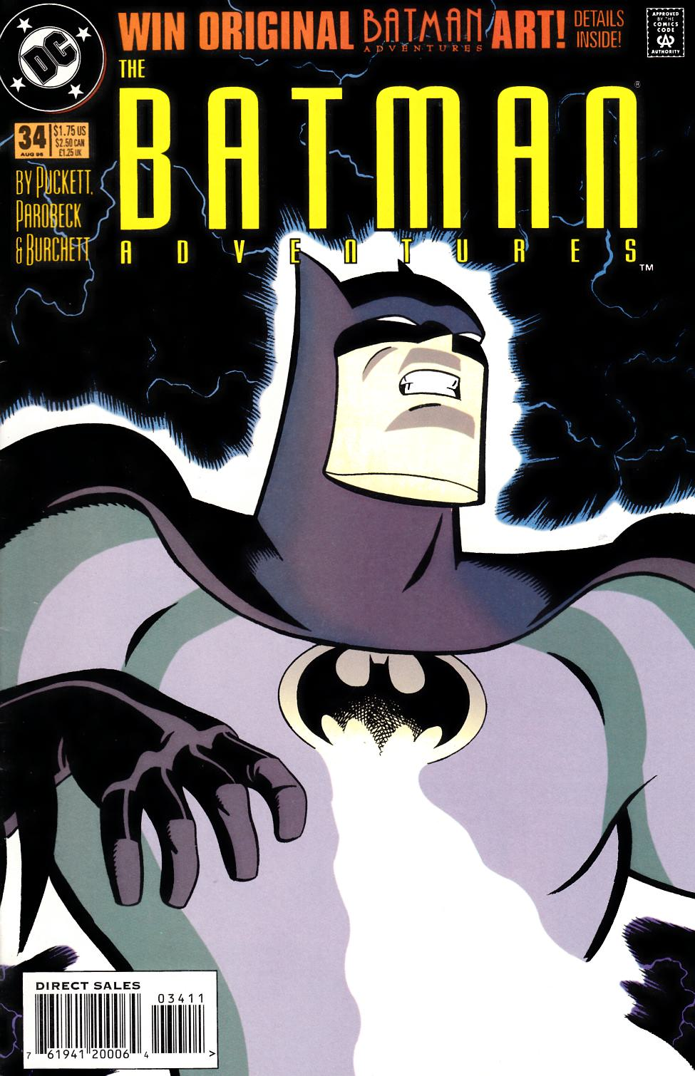 Batman Adventures #34 [DC Comic] THUMBNAIL