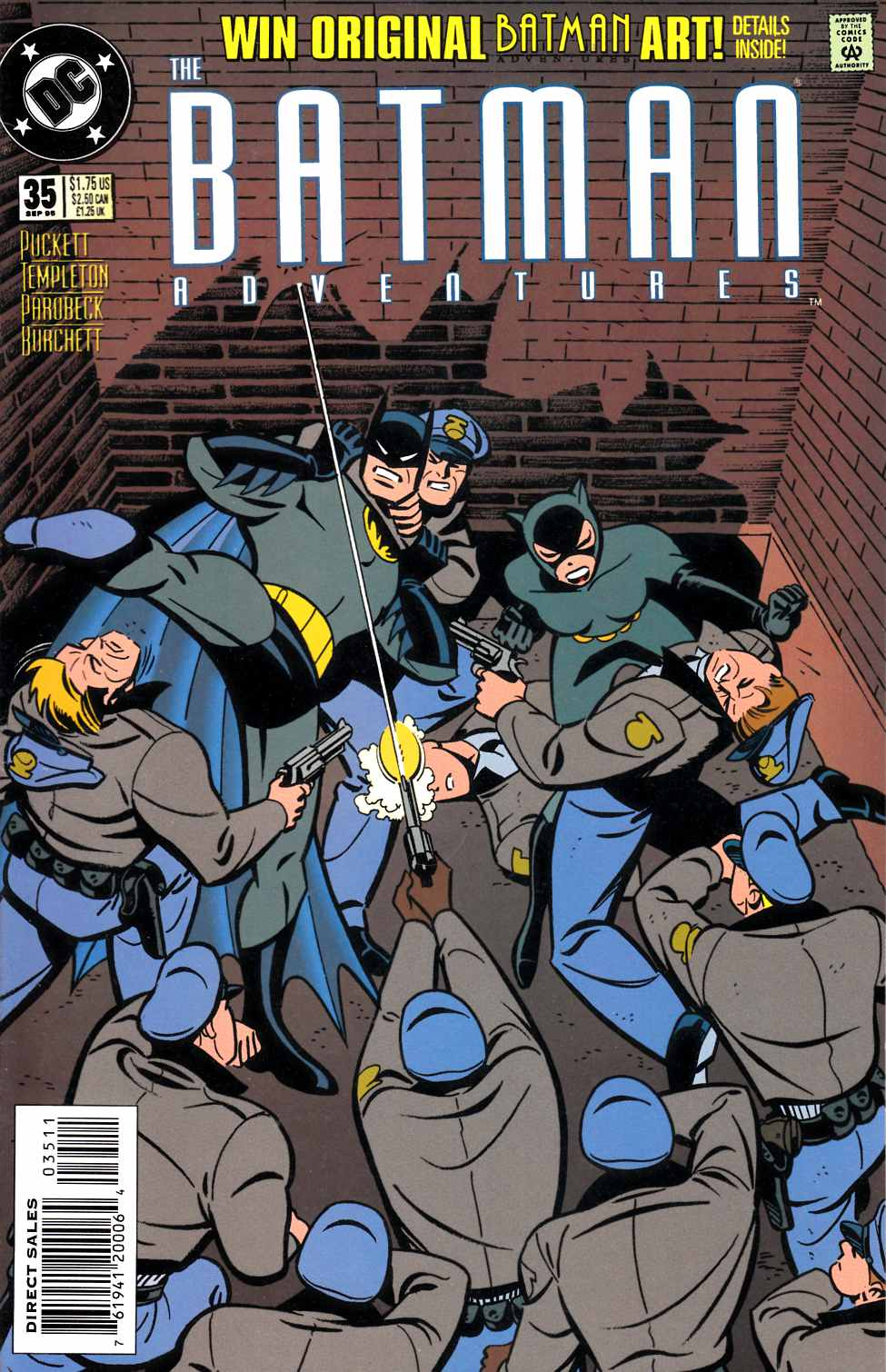 Batman Adventures #35 [DC Comic] THUMBNAIL