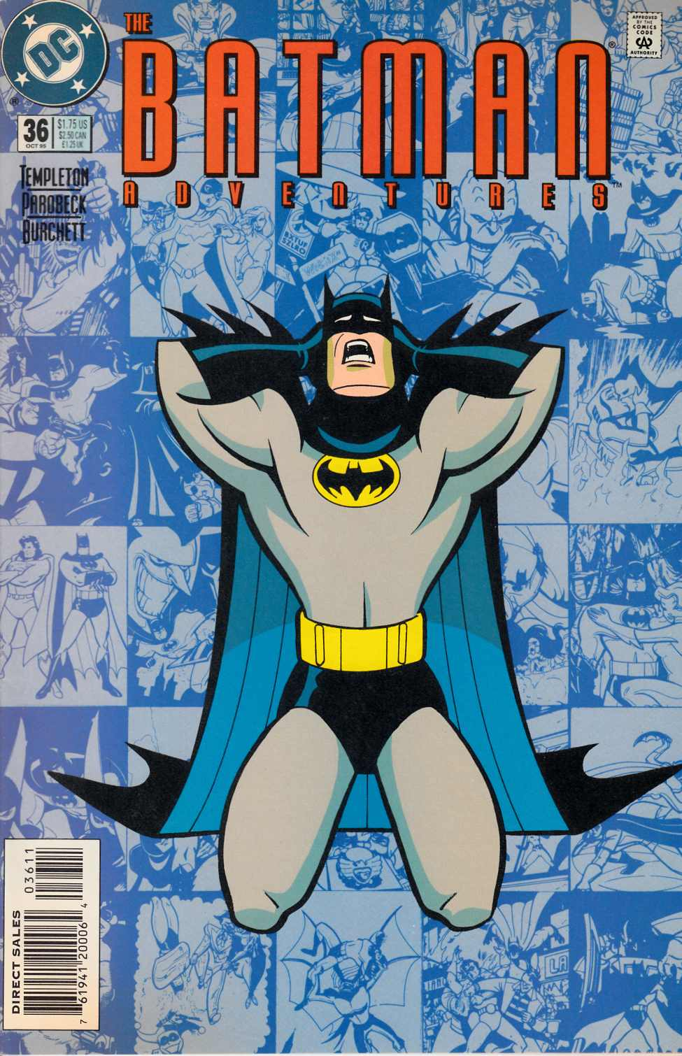Batman Adventures #36 [DC Comic] THUMBNAIL