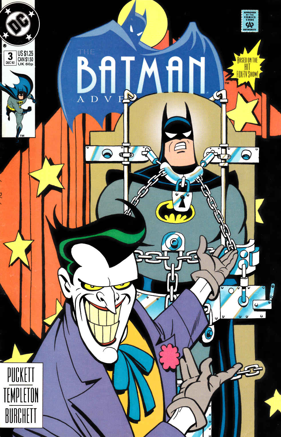 Batman Adventures #3 [DC Comic] LARGE