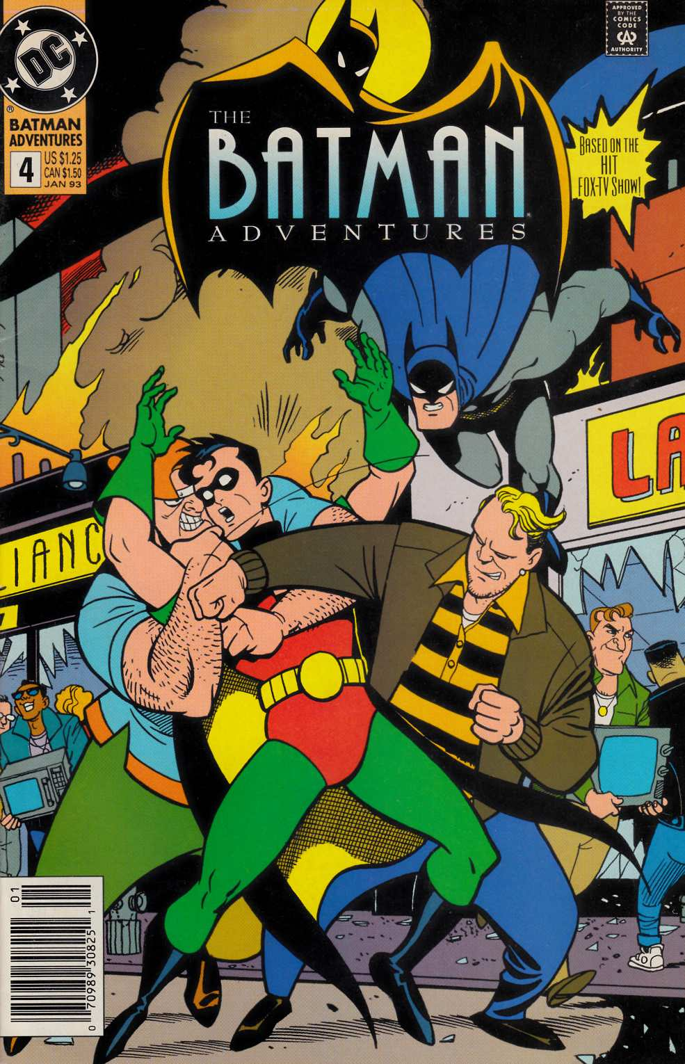 Batman Adventures #4 Newsstand Edition Very Fine (8.0) [DC Comic]_LARGE