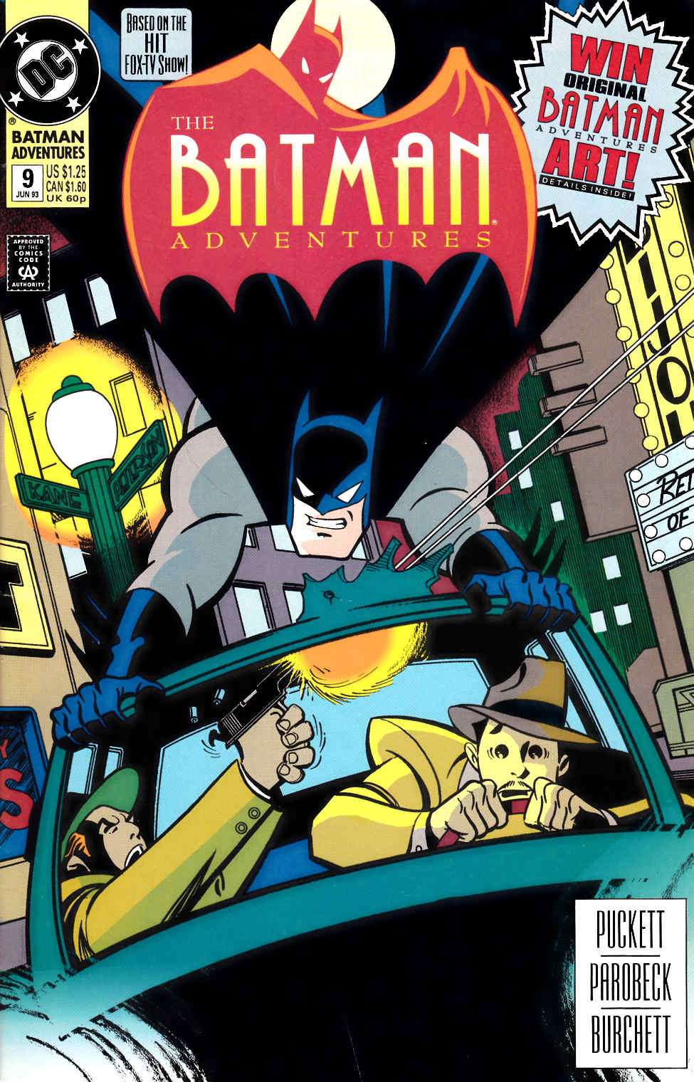 Batman Adventures #9 [DC Comic] LARGE