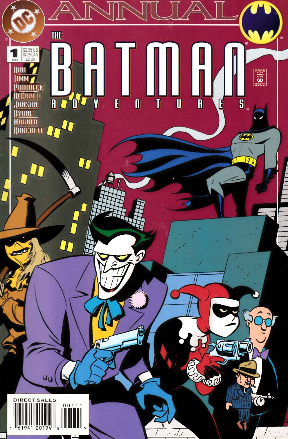 Batman Adventures Annual #1 Very Fine (8.0) [DC Comic] THUMBNAIL