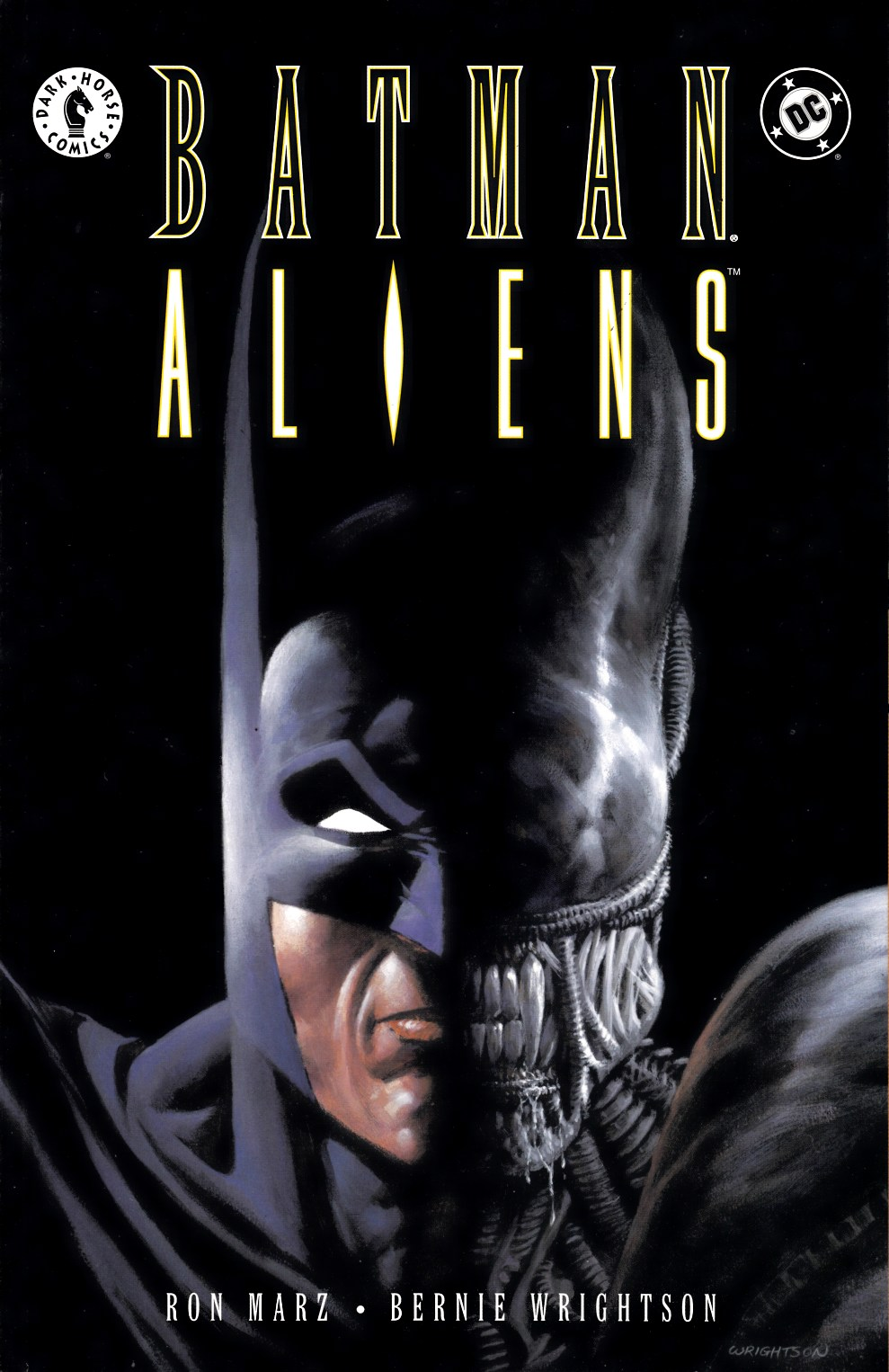 Batman Aliens #1 Near Mint (9.4) [DC Comic] THUMBNAIL