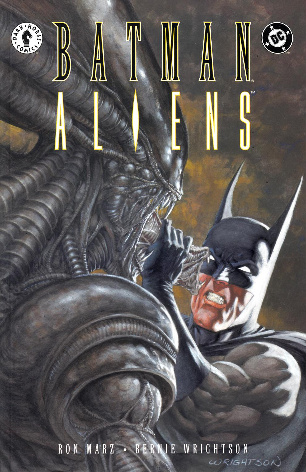 Batman Aliens #2 Very Fine Plus (8.5) [DC Comic] THUMBNAIL