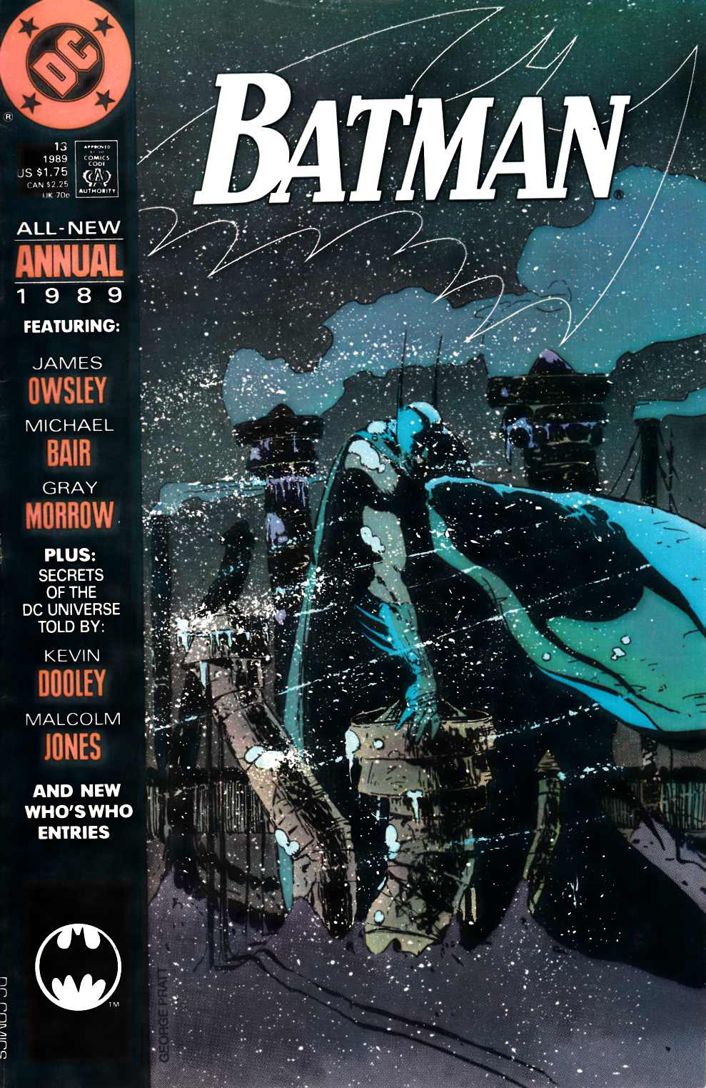 Batman Annual #13 Very Good (4.0) [DC Comic] LARGE