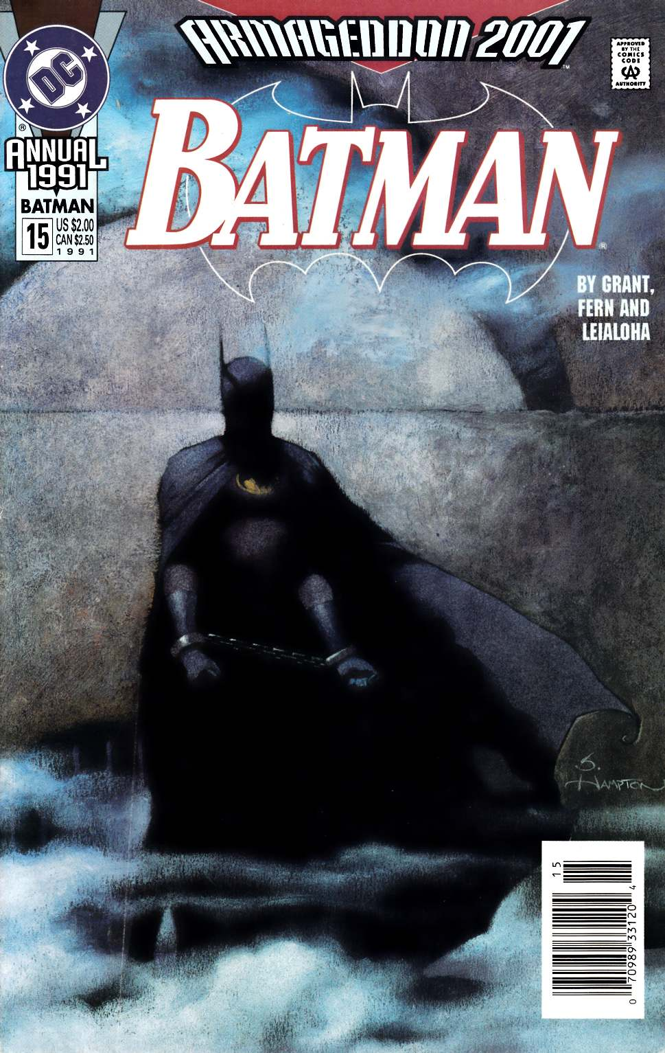 Batman Annual #15 Newsstand Edition Very Good Plus (4.5) [DC Comic] LARGE