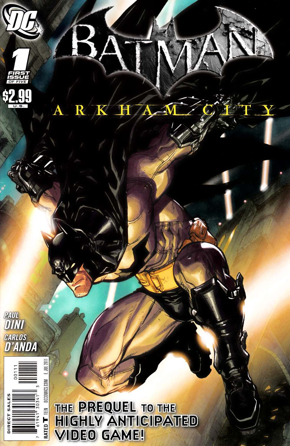 Batman Arkham City #1 [DC Comic]_THUMBNAIL