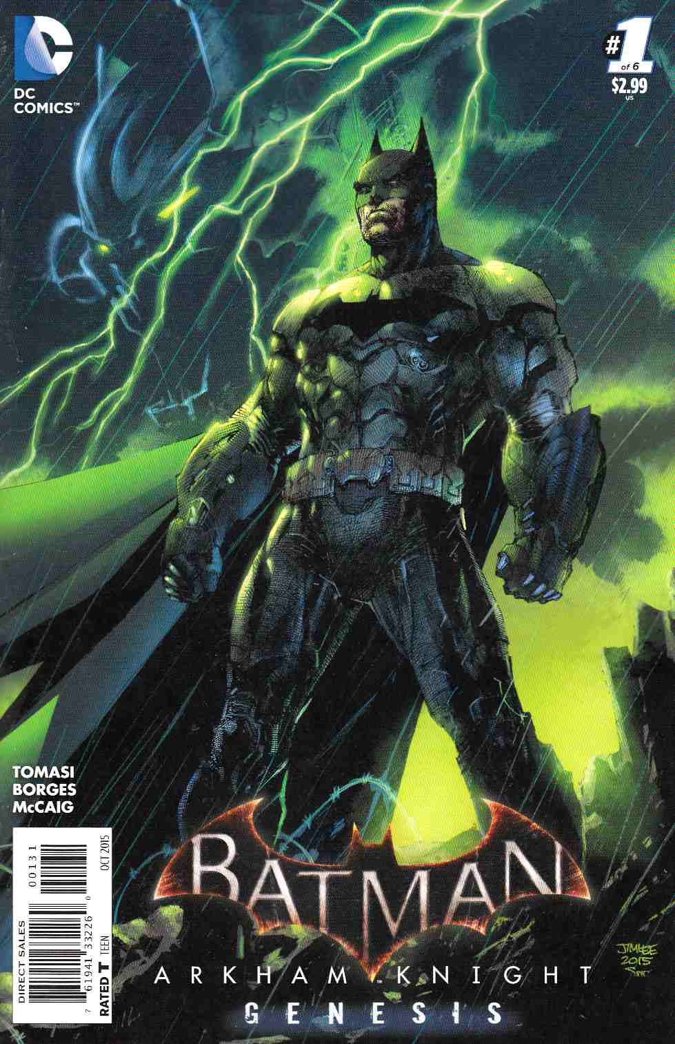 Batman Arkham Knight Genesis #1 Jim Lee Variant Cover [DC Comic]_THUMBNAIL