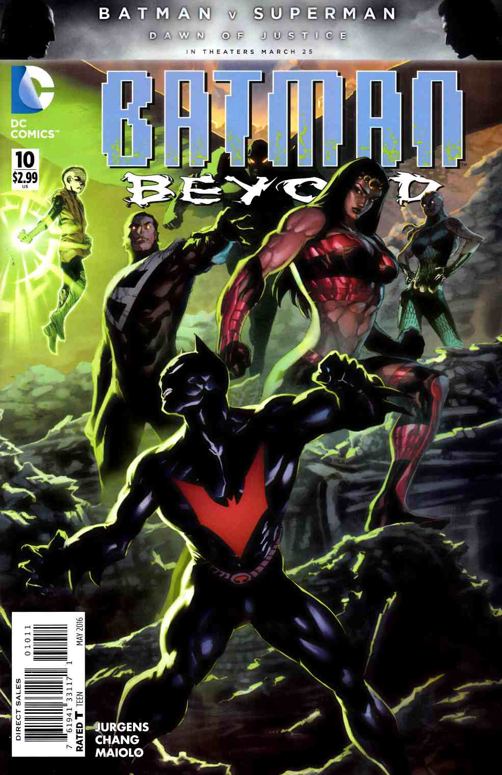 Batman Beyond #10 [DC Comic] THUMBNAIL
