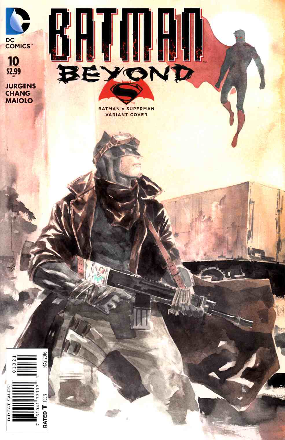 Batman Beyond #10 Nguyen Variant Cover [DC Comic] THUMBNAIL