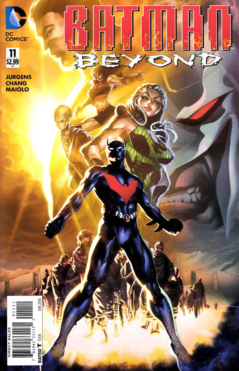 Batman Beyond #11 [DC Comic] THUMBNAIL